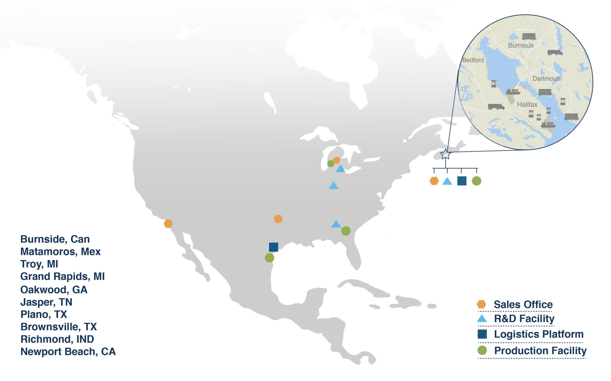 Neocon Map Monochromatic